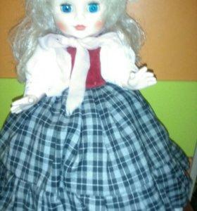 Кукла - грелка на чайник СССР