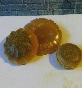 Лечебное мыло ручной работы с глиной