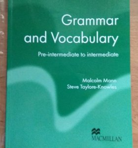 Macmillan Grammar and Vocabulary