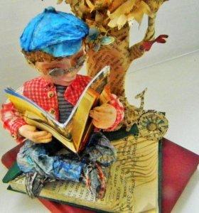 Кукла ручной работы «Тимошка»