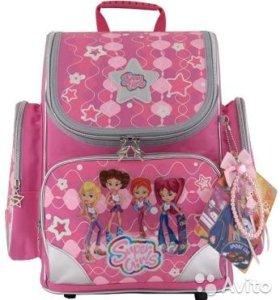 """Школьный рюкзак для девочек Hummingbird """"4 Super"""
