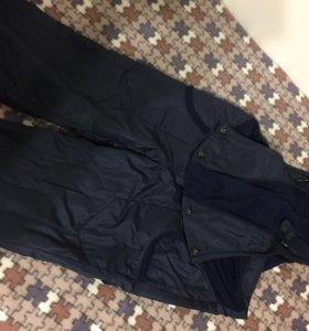 Утеплённые брюки-комбинезон для беременных