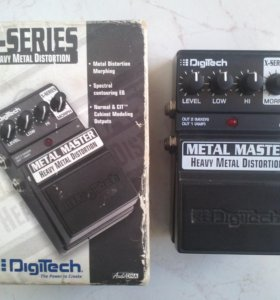 Педаль эффектов Digitech Metal Master