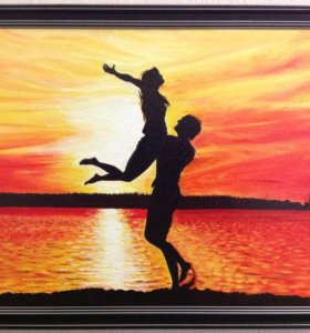 Картина маслом .Танец любви.