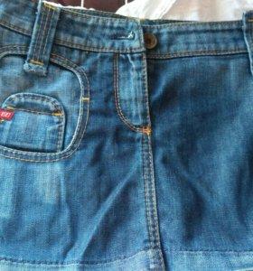 Юбка джинсовая ,42-44