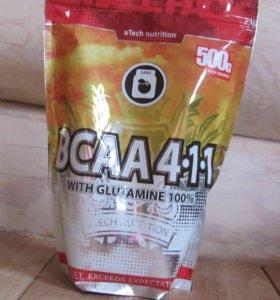 BCAA 4-1-1 500гр. апельсин