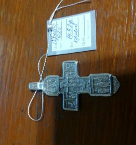 Кресты серебро 925