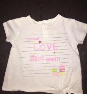 футболочка Zara Baby