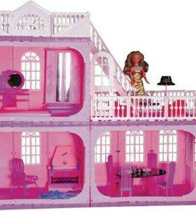 Кукольный двухэтажный дом, торг