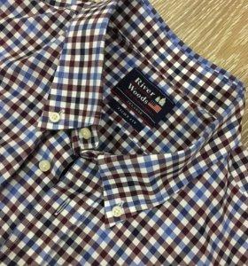 Новая рубашка фирмы River woods