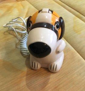 Собачка-телефон