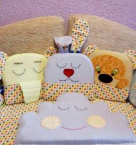 Бортики подушки на заказ