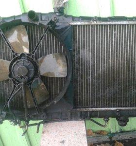 Радиатор охлаждения двигателя 4S (ST-170) TOYOTA C