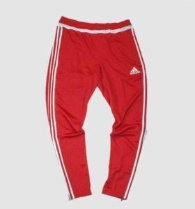 Новые Штаны спортивные Adidas tiro 15 Red