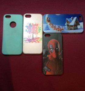 Чехлы на iPhone 5s и на андроиды