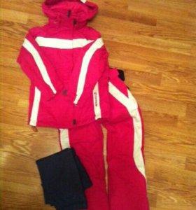 Горнолыжный костюм рост 116+термобелье р.116