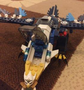 LEGO Чима игрушка для детей развивающия С драконом
