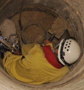 Прочистка выгребных, сливных, канализационных ям