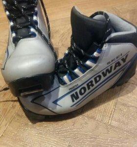 Лыжные ботинки (детские)