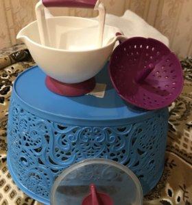 Паровая чаша блендер для изготов. детского пюре