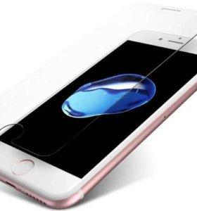 Защитное стекло iphone 6/7