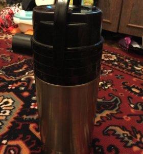 Термос с дозатором на 3 л