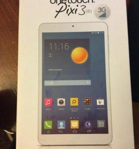 Планшет alcatel onetouch Pixi3(8) 3G