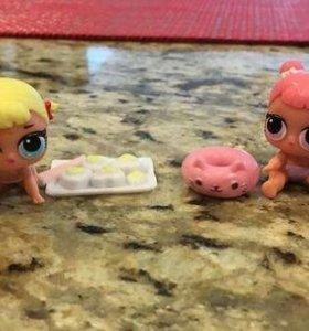 LOL кукла сюрприз в шаре Lil Sisters