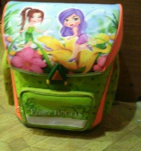 Школьные рюкзак для девочек