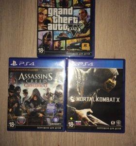 Mortal Combat X + AC Синдикат + GTA 5