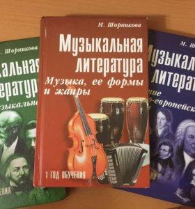 Муз литература Шорникова