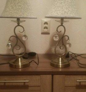Настольные лампы-пара