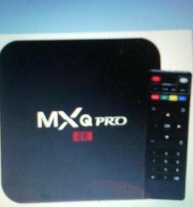 Андроид тв приставка MXQ Pro 4k