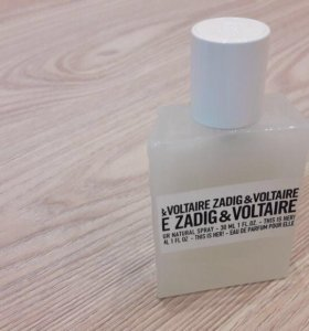 ZADIG&VOLTAIRE THIS IS HER 30 Мл