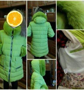 Пальто для девочки 9-11 лет р.3xl.