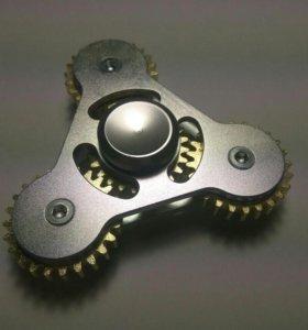 Спиннер металлический шестеренка