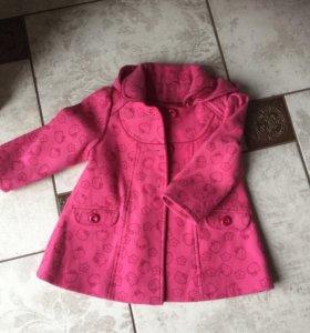Пальто размер 92-98
