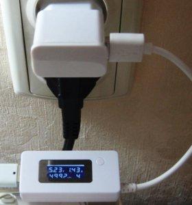 Блок питания. Измеритель тока, тестер емкости