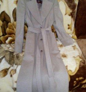 Кашемированое пальто весна-осень
