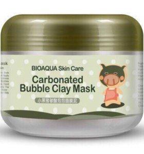 Кислородная маска для лица Bioaqua Carbonated