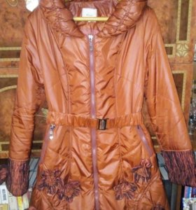 Пальто на синтепоне осень зима