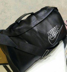 Спортивная сумка Nike,дорожная ,эко кожа