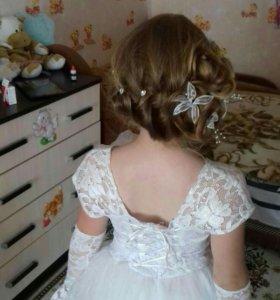 Платье принцессы или белой снежинки