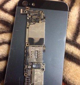 Мат плата iPhone 5 32gb, 16 gb.