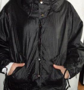 Новая черная куртка большого размера