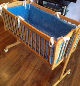 Детская кроватка-люлька 💤