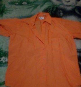 Рубашка мужская, новая, р.58-60. Обмен