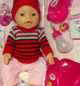 Кукла С волшебной соской аналог Baby Born