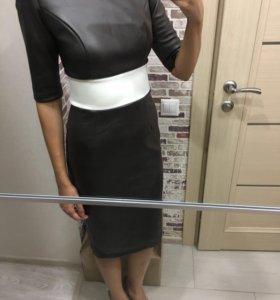 Дизайнерское новое платье