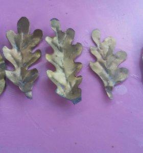 Бронзовые листья